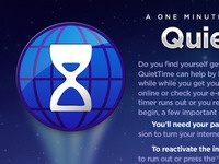 QuietTime introduction screen