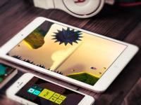 iPad & iPhone game mockup