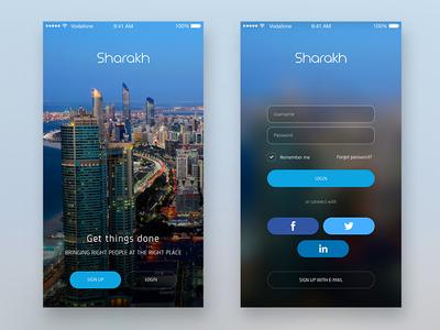 Sharakh - Service app