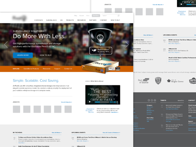 Home Page Design home page web design layout slideshow news footer sitemap