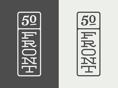 50 Front Vertical Logo logo apartment