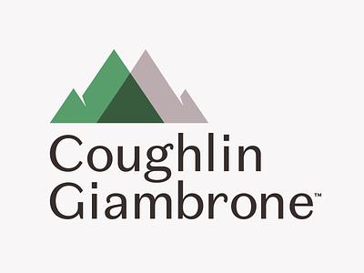 CoughlinGiambrone Identity logomark financial branding financial management