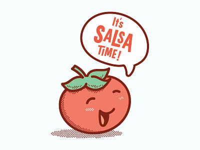 Smash Me Up into Delicious Salsa medium spicy tomato salsa tomatoes