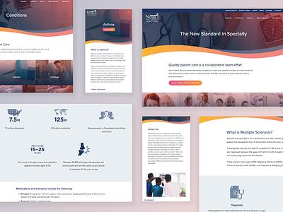 Noble Health Services Website webdesign pharmacy frontend design