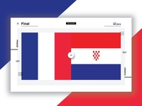 Fifa Worldcup Final Infographic UI