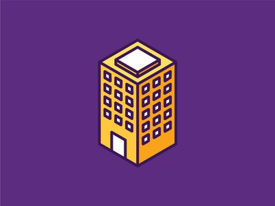 Isometric Building Icon