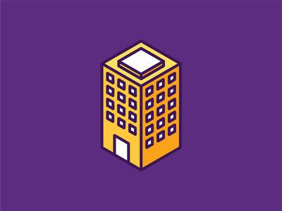 Isometric Building Icon