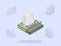 Isometric Residential Building