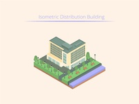 Isometric Distribution Building