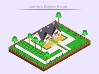 Isometric Dolphin House