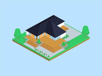 Isometric Mirage House