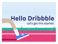 Hello Dribbble! Lanya here.