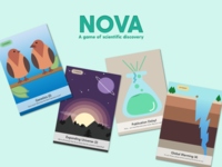 NOVA -- a game of scientific discovery