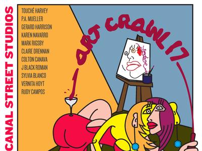 Art Crawl 17 Illustration