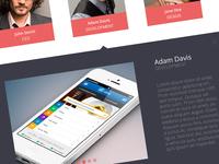 Team Page - Creative Theme