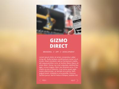 Portfolio Mobile / Responsive View - Creative Theme