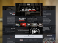 CrossFit Website WIP