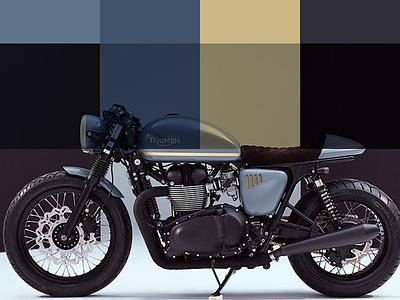 Color Palette color palette gold motorbike bike color palette