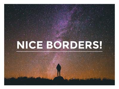 CSS3 Animated Borders web design web borders animation codepen css3