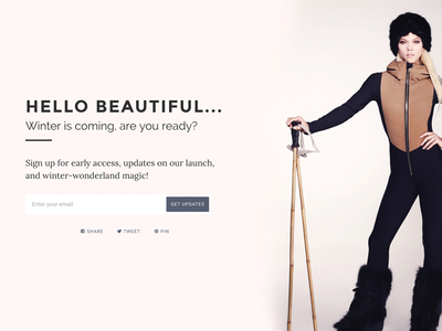 Just another coming soon page web site website landing page coming soon shopify web web design