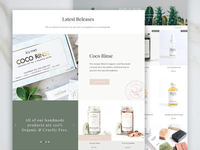 Jasper Shopify Theme WIP webdesign website shopify theme theme light clean minimal beauty e-commerce ecommerce shopify web design