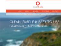 Wordpress theme v1