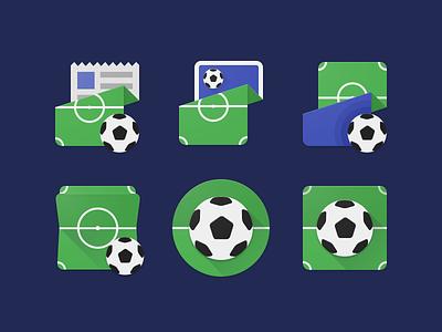 Soccer Material Icons soccer app ui logo app icon material design