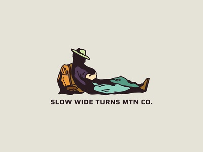 Slow Wide Turns Hiker