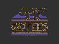 Tribal Bear $20 Tees