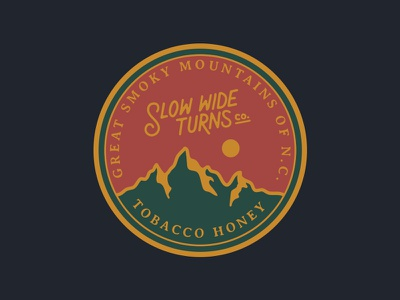 Tobacco Honey Label adventure camping outdoors candle tobacco honey forest woods hiking mountains mountain