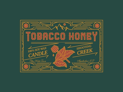 Tobacco Honey Label