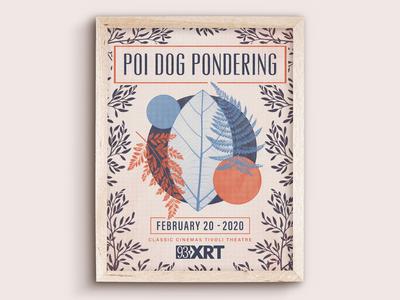 Poi Dog Pondering Poster