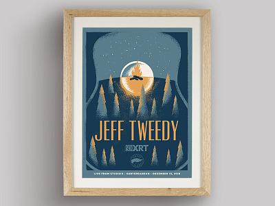 Jeff Tweedy wilco wacom design poster screen print illustration