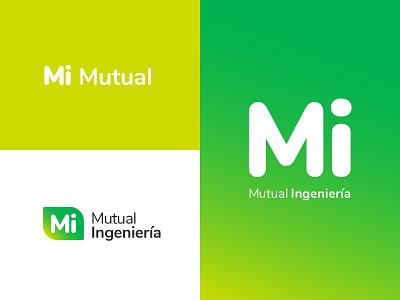 Mi Mutual - Logo design app ux ui vector logo branding typography design