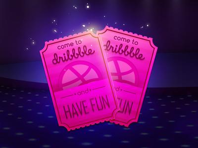One more Dribbble invitation!