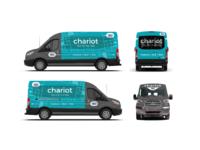 Chariot van wrap 2x