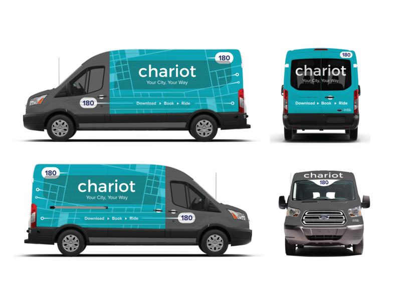 Chariot Van Wrap