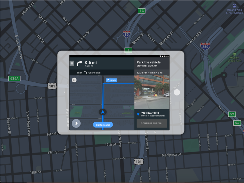 Chariot Driver App Night Mode