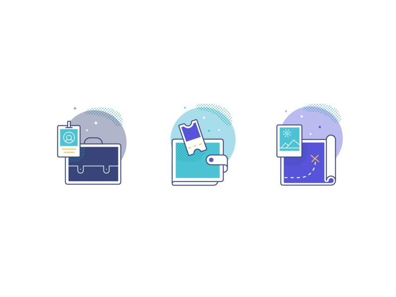 Chariot Business Segment Icons