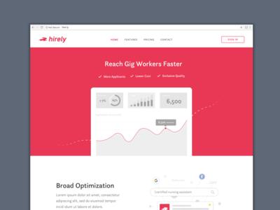 Hirely Web design