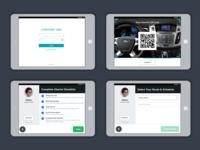 Chariot Driver App: Pre-launch Flow