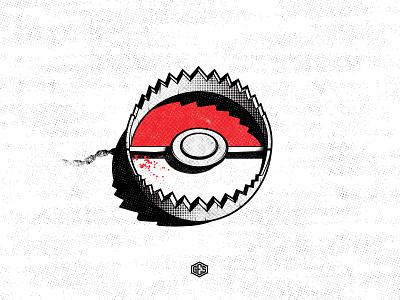 Gotta kill 'em all trap design graphic illustration ges pokemongo pokemon
