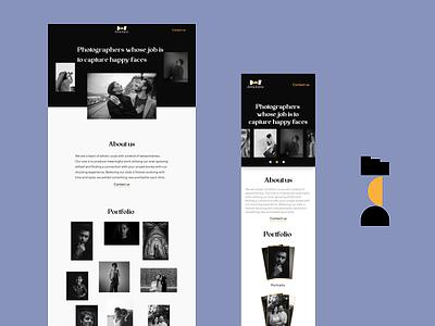 Dot and Frame Website typography branding graphic design design ux ui web design