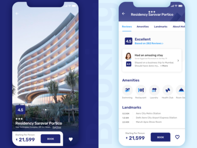 Booking Hotel Details Page