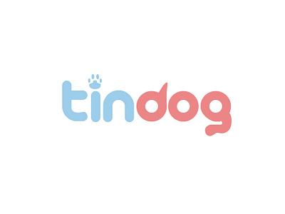 Tindog Logo Design illustration design free logo brand identity design illustrator dog brand identity branding vector art logo