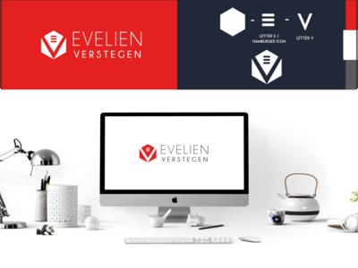 Evelien Verstegen Logo Design