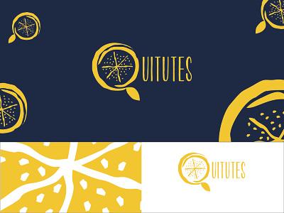 Quitutes Logo download free logotype illustration graphic design flat dribbble design dailyui creative color brand art adobe 2d branding vector blue icon logo