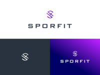 Sporfit Lgo Design Dribbble