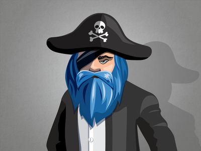 Pirate Character Illustration