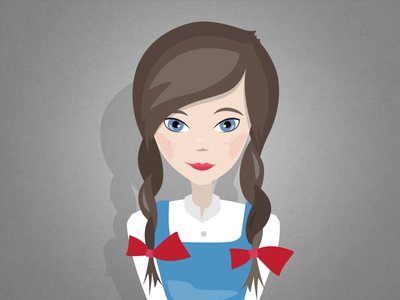 Dorothy Character Illustration